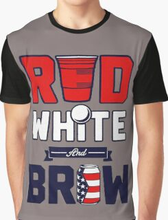 RED-WHITE & BREW Graphic T-Shirt