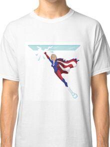 Hillary Clinton shattering the glass ceiling Classic T-Shirt
