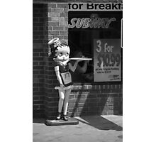 Betty Boop #1 Photographic Print