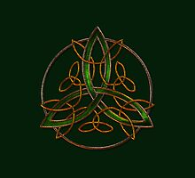 Celtic Triquetra by Bluesax