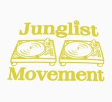 T - Shirt Junglist Movement by RAINBOWARTS