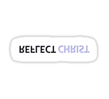 Reflect Christ Sticker