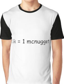1 lik = 1 mcnugget Graphic T-Shirt