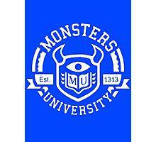 Monsters university Photographic Print