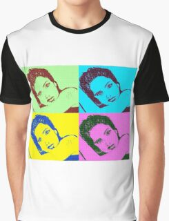 Salma Hayek- Pop Art Graphic T-shirt Graphic T-Shirt