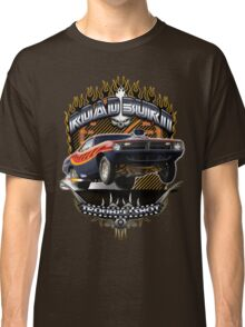 Muscle Car - Barracuda Road Burn Classic T-Shirt