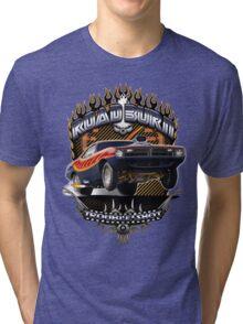 Muscle Car - Barracuda Road Burn Tri-blend T-Shirt