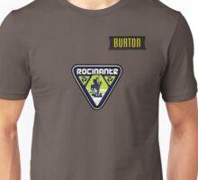 Rocinante Logo w/ Burton patch  Unisex T-Shirt