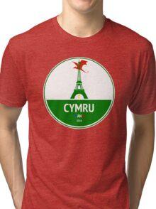 Cymru Tri-blend T-Shirt