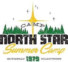Camp North Star Photographic Print
