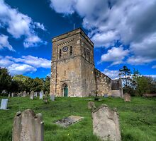 Etton Church (II) by Neil Cameron