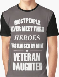 Veteran Daughter Graphic T-Shirt
