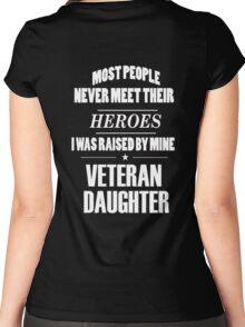 Veteran Daughter Women's Fitted Scoop T-Shirt
