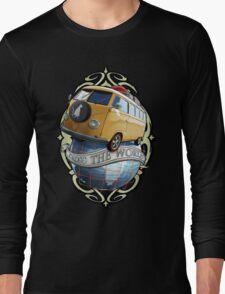T1 Bus - Cross the World Long Sleeve T-Shirt