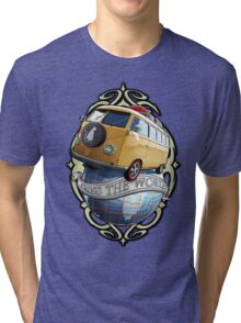 T1 Bus - Cross the World Tri-blend T-Shirt