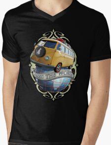T1 Bus - Cross the World Mens V-Neck T-Shirt