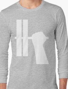 WORKOUT BAR SHIRT-WHITE Long Sleeve T-Shirt