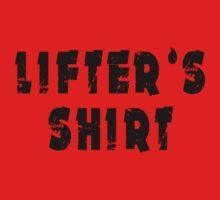 lifter's shirt One Piece - Short Sleeve