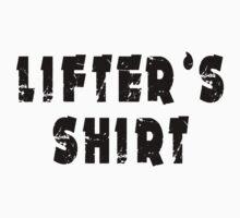 lifter's shirt Kids Clothes