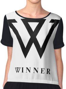 Winner logo Chiffon Top