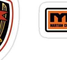Tachi patch w/ MCRN logo Sticker