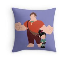 The Dynamic Duo Throw Pillow