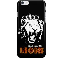 God Save The Lions iPhone Case/Skin