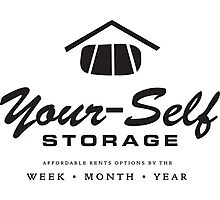 Your-Self Storage Photographic Print