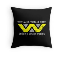 Weyland Yutani Throw Pillow