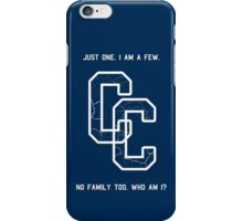 Clone Clun - rules. iPhone Case/Skin
