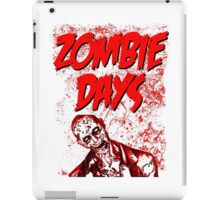 Zombie Days Red iPad Case/Skin