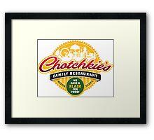 Chotchkie's Framed Print