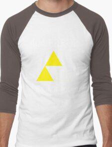 404 - Link not found (B) Men's Baseball ¾ T-Shirt