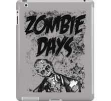 Zombie Days Black iPad Case/Skin