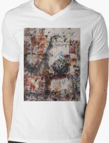 Abstract Impressions Mens V-Neck T-Shirt