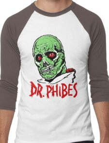 DR. PHIBES Men's Baseball ¾ T-Shirt