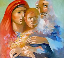 The Holy Family by Filip Mihail