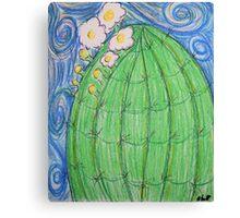 Happy Saguaro Canvas Print