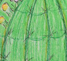 Happy Saguaro Sticker