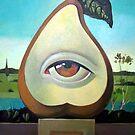 Magical Pear by painterflipper