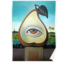 Magical Pear Poster