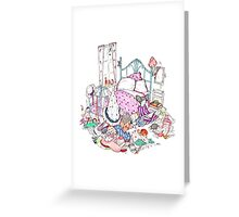 messy room Greeting Card