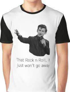 Alex Turner - Brits Speech Graphic T-Shirt