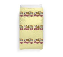 scooby doo be cool face Duvet Cover