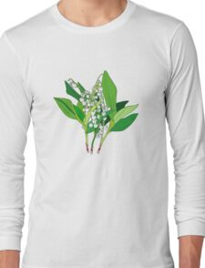 Lilly of the Valley Long Sleeve T-Shirt