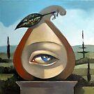 Blue-eyed pear by painterflipper