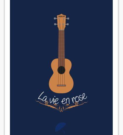 La vie en rose - ukulele - HIMYM Sticker