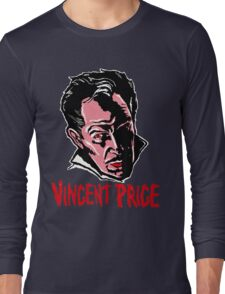 VINCENT PRICE Long Sleeve T-Shirt