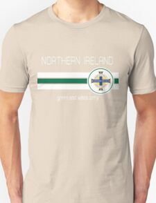 Euro 2016 Football - Northern Ireland (Green) Unisex T-Shirt