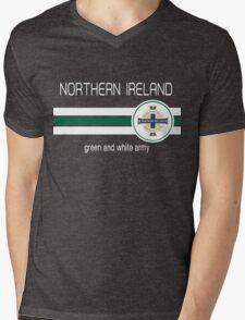 Euro 2016 Football - Northern Ireland (Green) Mens V-Neck T-Shirt